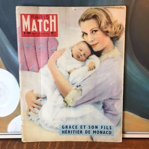 29 March 1958 Paris Match Magazine